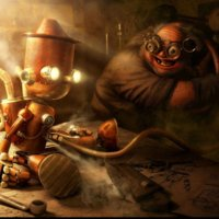 The Steam Punk Pinocchio
